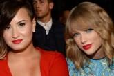 Demi Lovato critica duramente a Taylor Swift por la donación a Kesha