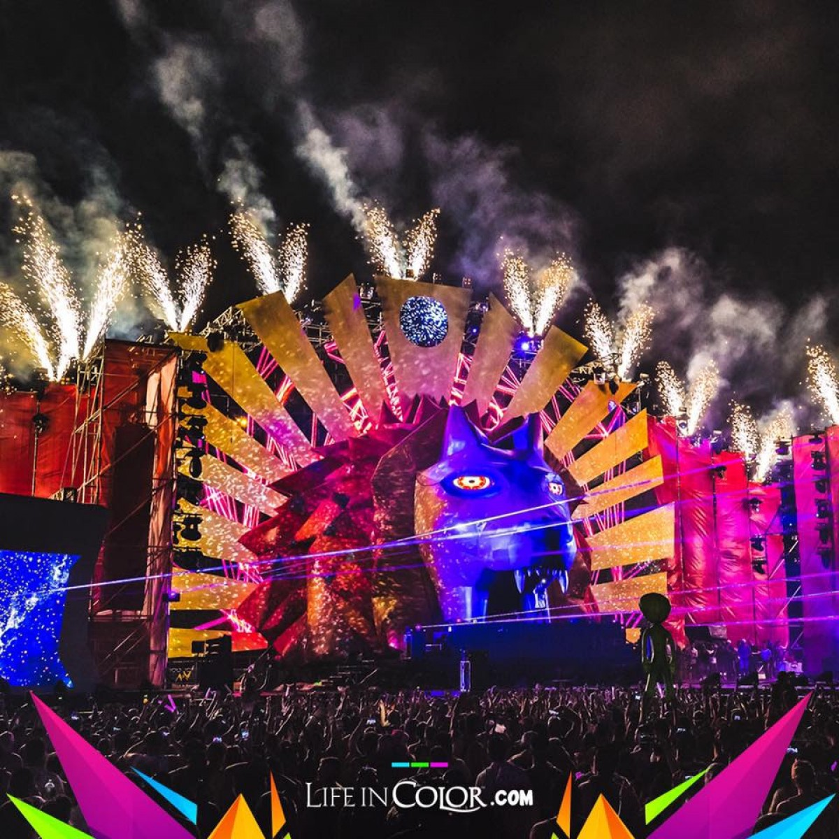 Las sorpresas del Life In Color Kingdom