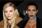 Polémica en Twitter entre Kim Kardashian y Chloe Moretz