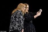 """Adele conoce a su """"gemela perdida"""" en pleno concierto"""