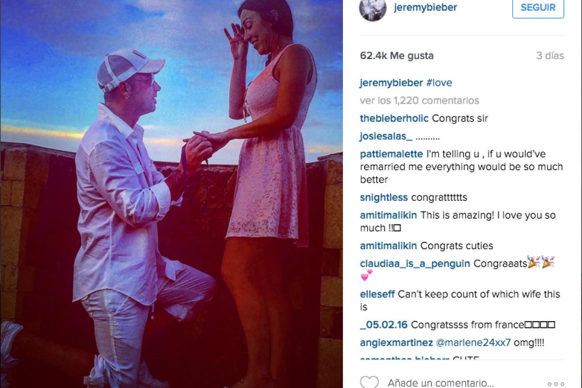 El papá de Justin Bieber se casa con una mujer de casi la misma edad que Justin