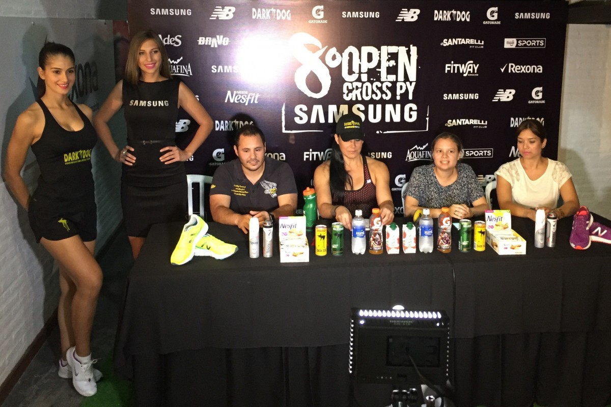 De la mano de Samsung Paraguay se lanzó la 8va edición del OPEN CROSS-PY