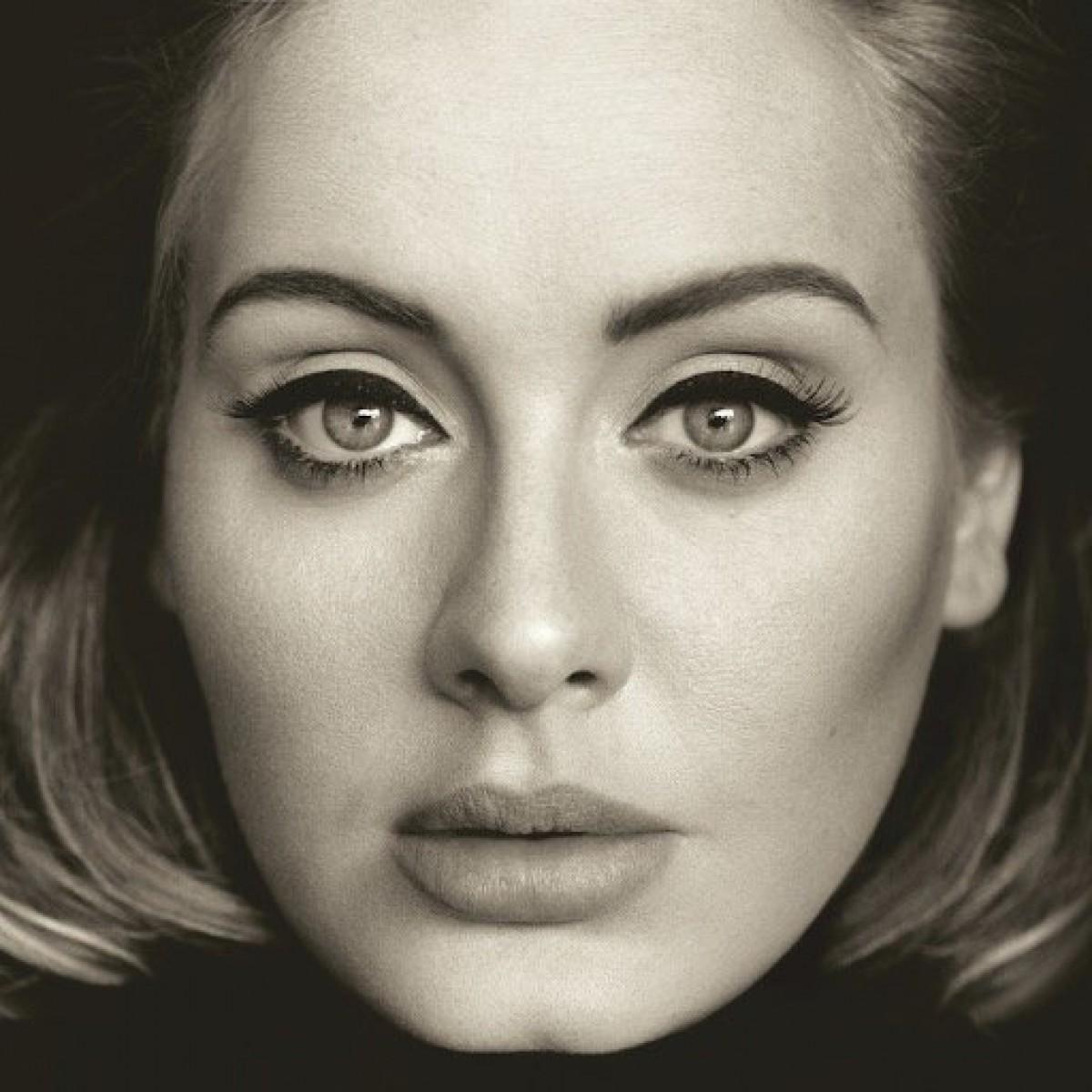 La foto de Adele con una extraña ilusión óptica