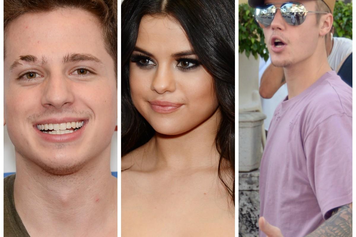 Charlie Puth insulta a Justin Bieber en pleno concierto