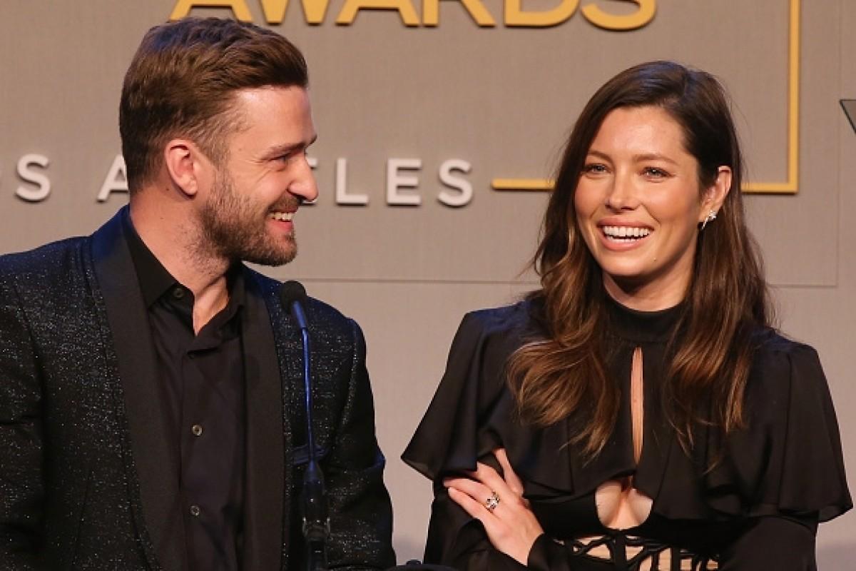 Justin Timberlake Jess... Jessica Biel Split