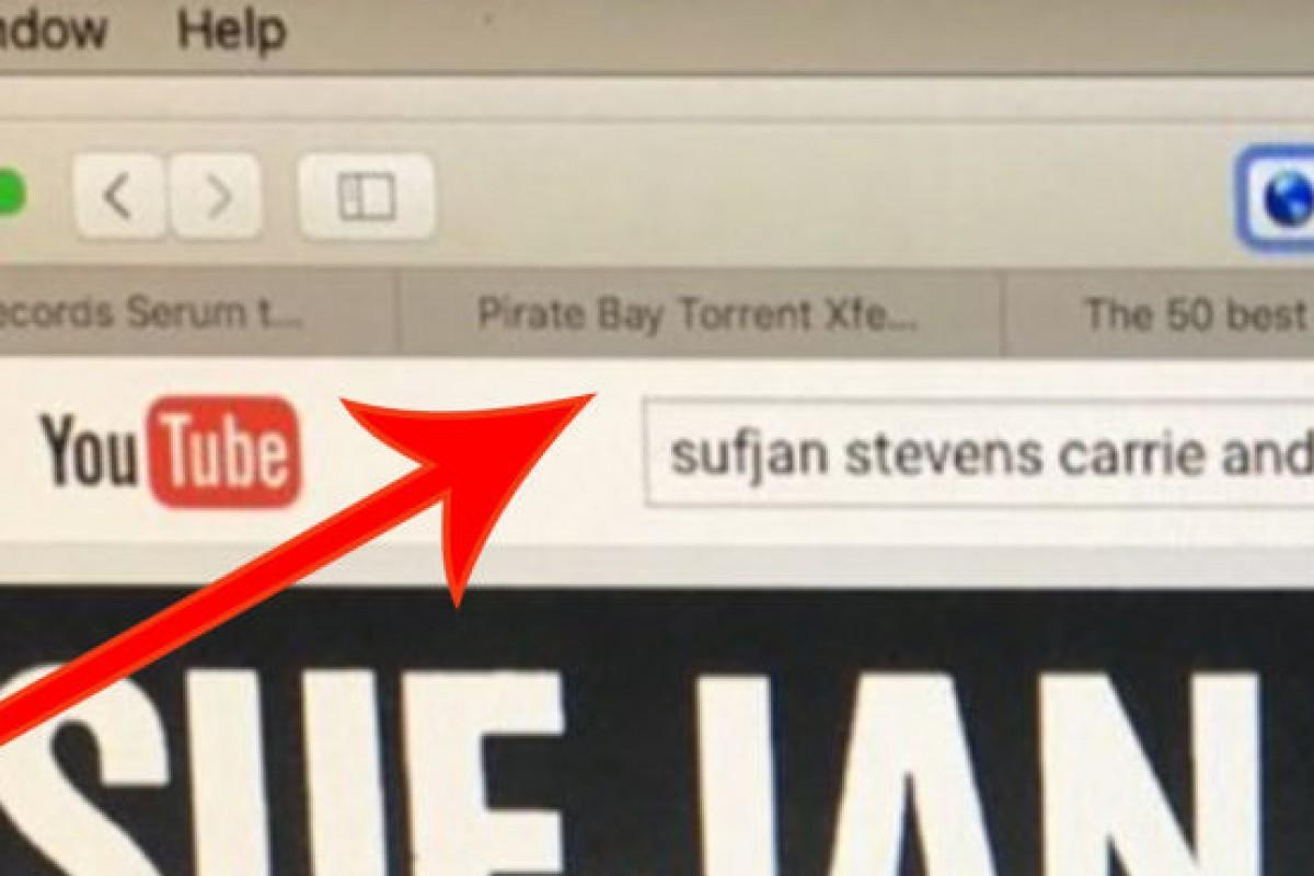 Kanye West cachado en página de piratería