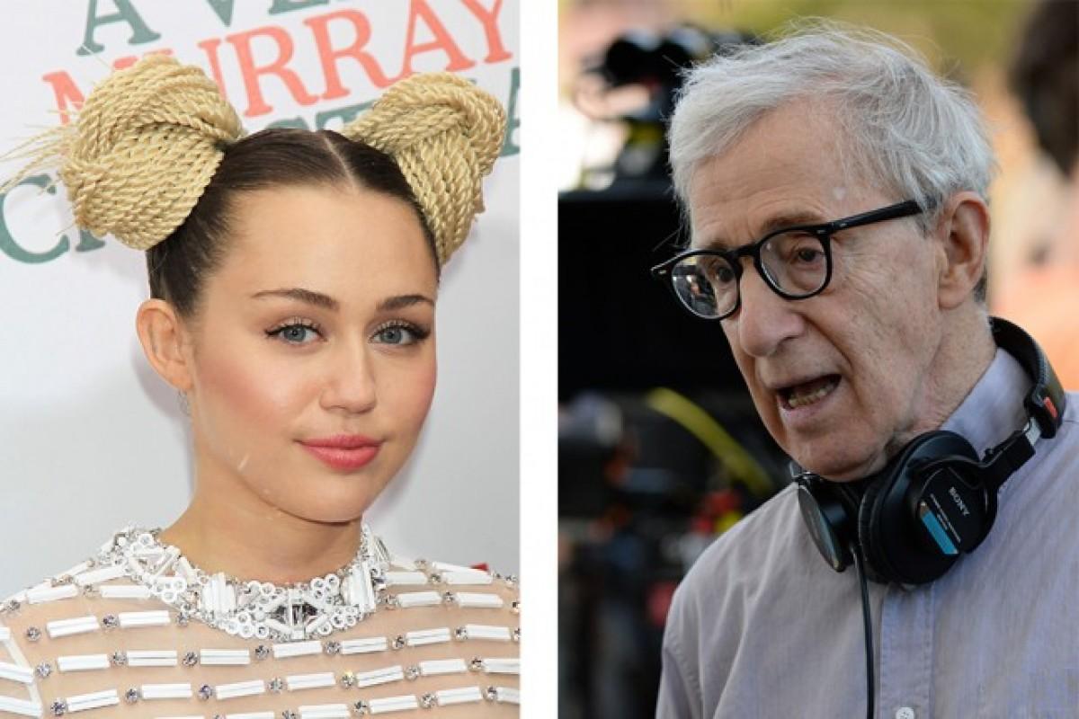 El look de Miley Cyrus para la nueva serie de Woody Allen