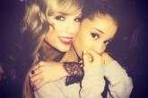 Ariana Grande cuenta porqué no está en el squad de Taylor Swift