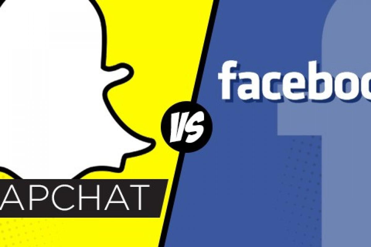 Facebook empieza a copiar a Snapchat