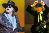 Confirman a Axl Rose como vocalista de AC/DC