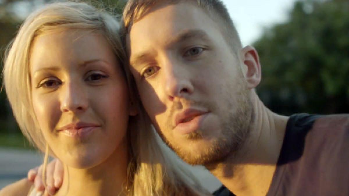 Ellie Goulding y Calvin Harris grabaron nueva canción