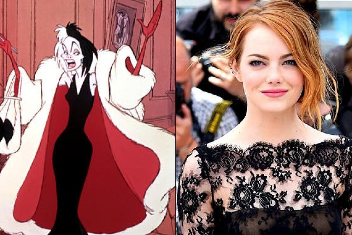 Emma Stone podría interpretar a Cruella De Vil