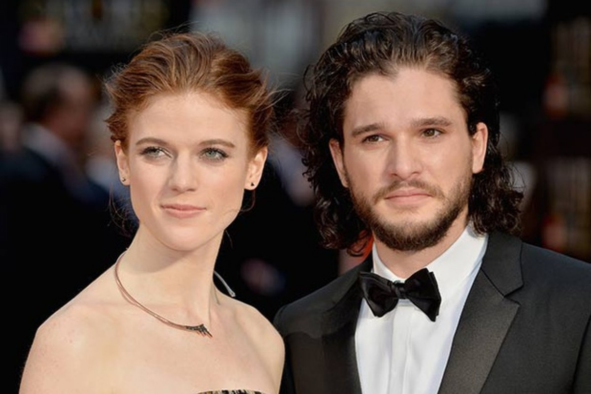 Kit Harington y Rose Leslie confirman su romance
