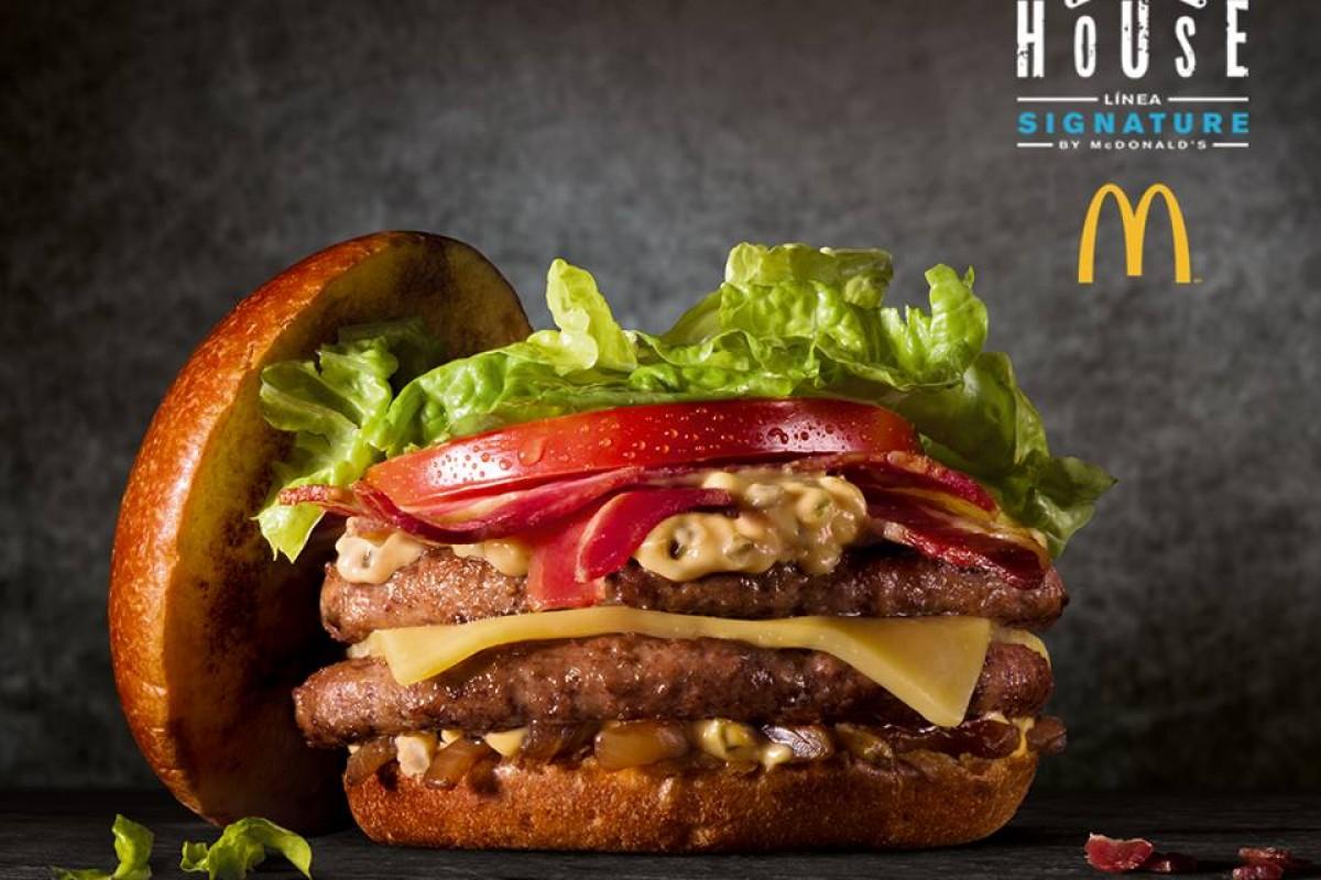 Club House, la nueva hamburguesa gourmet de McDonald's