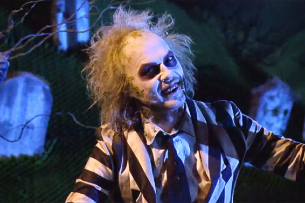 Tim Burton aclara rumores de Beetlejuice 2