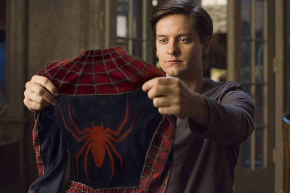 Tobey Maguire felicitó al Spiderman de Tom Holland