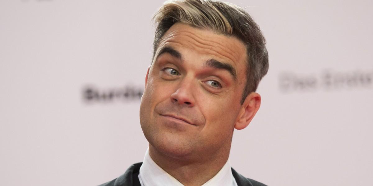 Robbie Williams está grabando un nuevo disco