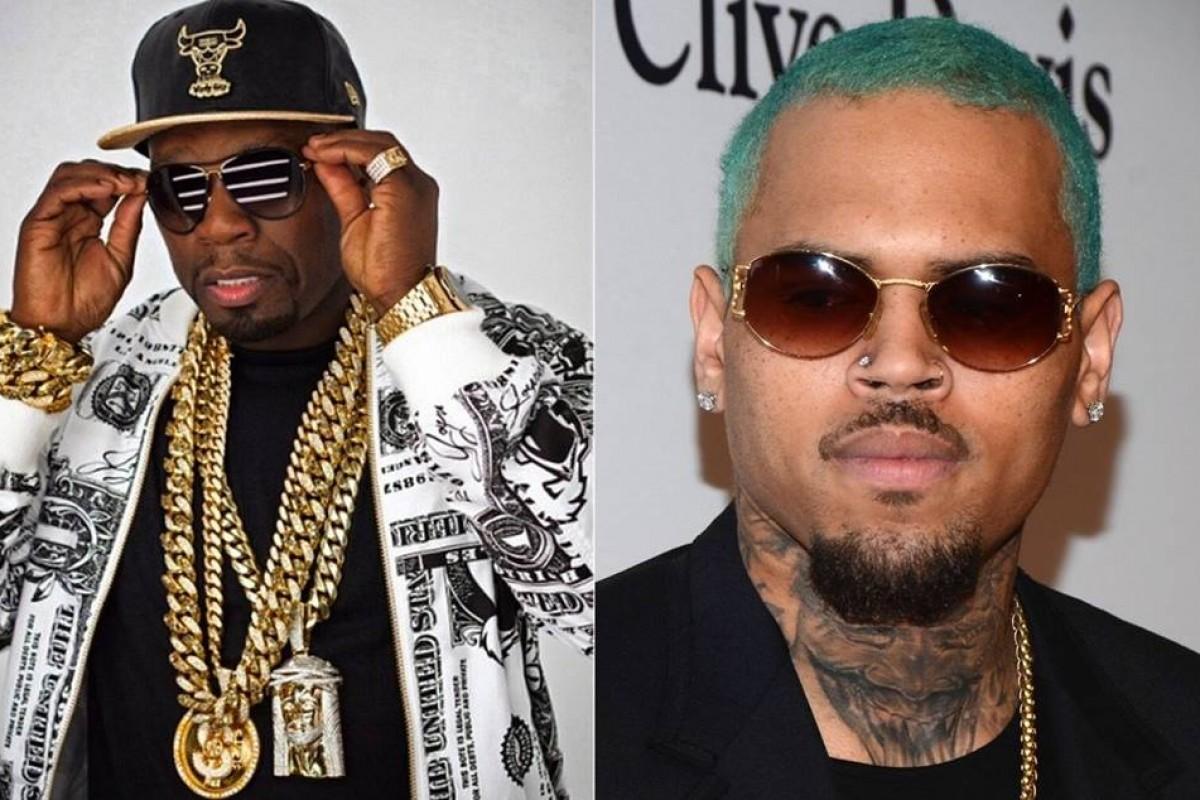"""""""No Romeo No Juliet"""" es el nombre del nuevo single de 50 Cent y Chris Brown"""