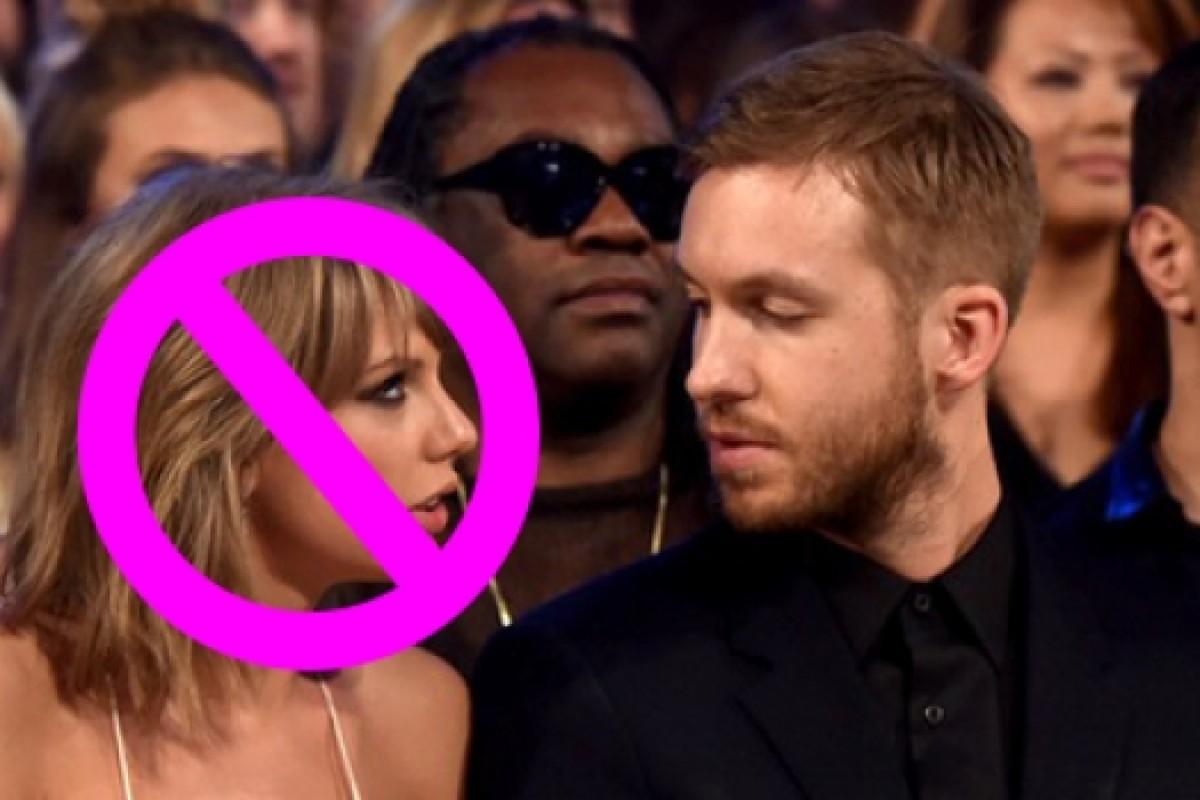 Calvin Harris borró todo rastro de Taylor Swift en sus redes