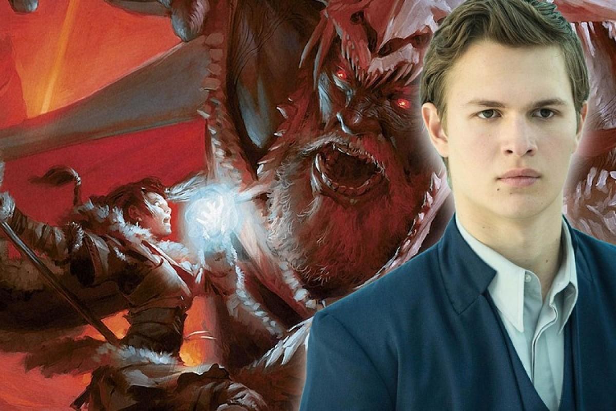 Ansel Elgort podría protagonizar la película de 'Calabozos y Dragones'