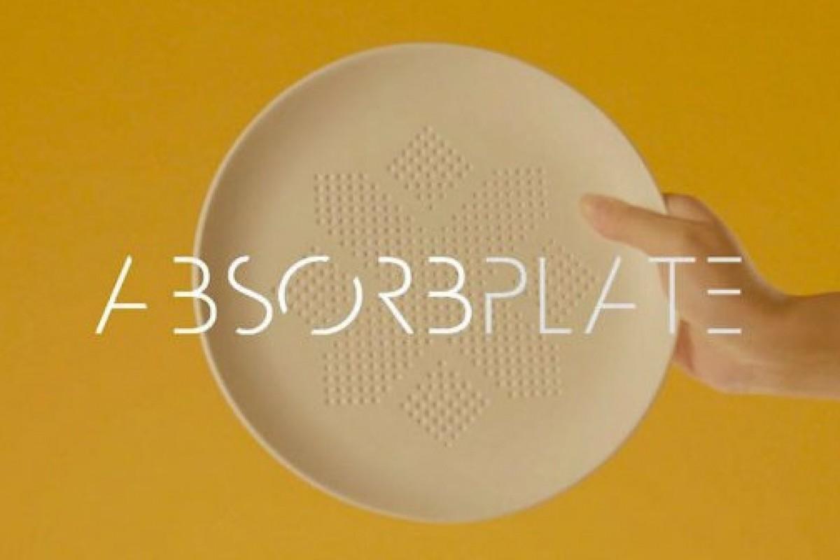 AbsorPlate: crean en Tailandia un plato que absorbe la grasa de las comidas