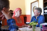 Bon Jovi visita a mujer con cáncer