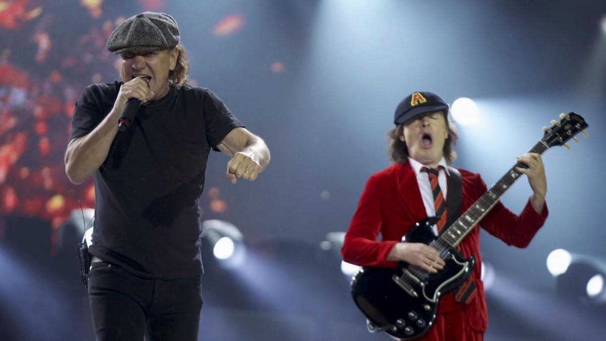 Brian Johnson, el vocalista de AC/DC, podría volver a los escenarios