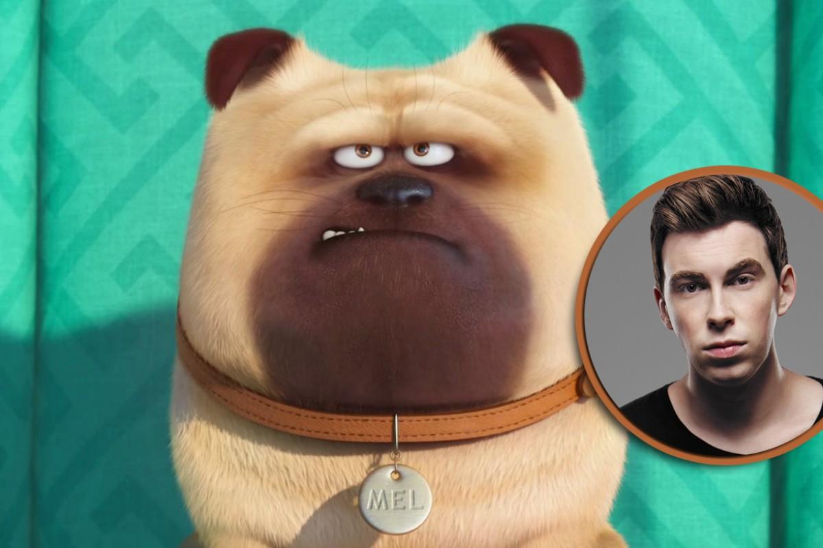 Hardwell dará la voz a un pug en 'La Vida Secreta de las Mascotas'