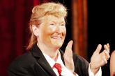 Meryl Streep se burla de Donald Trump en pleno escenario