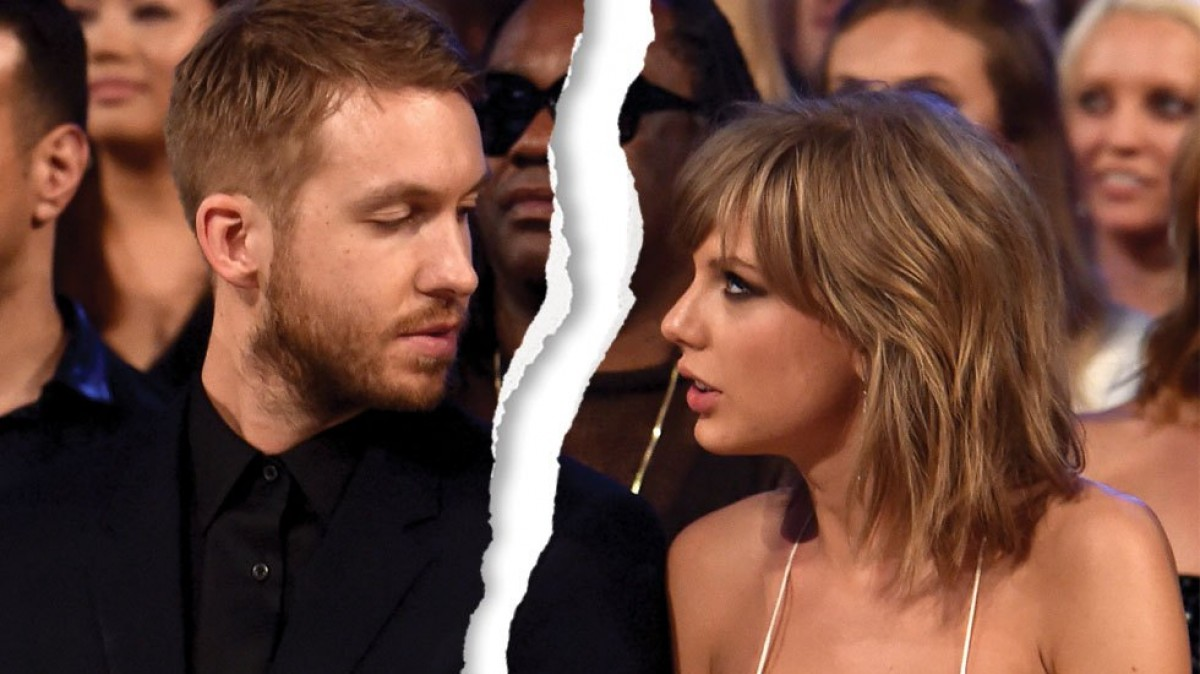 Calvin Harris disparó contra Taylor Swift en Twitter