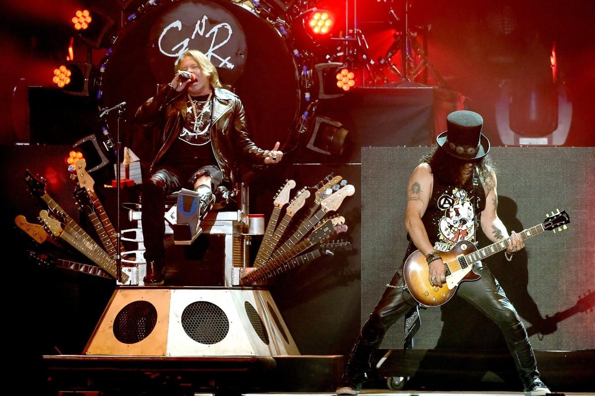 Los Guns N' Roses anunciaron una gira por Sudamérica