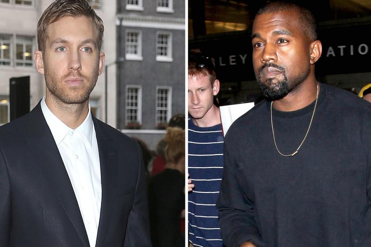 Para rematar: Calvin Harris y Kanye West podrían grabar juntos