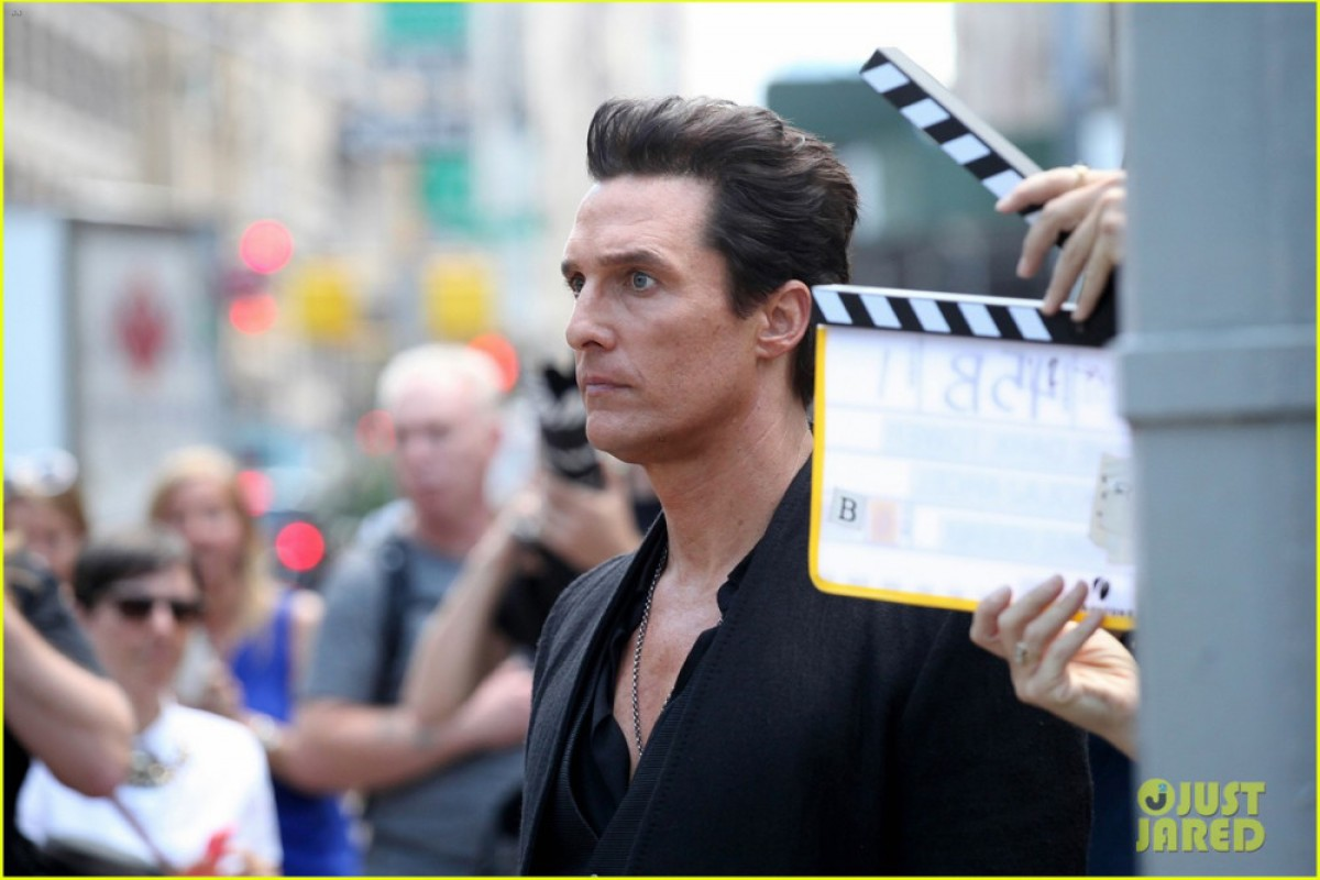 Se revelaron imágenes de la nueva película de Matthew McConaughey