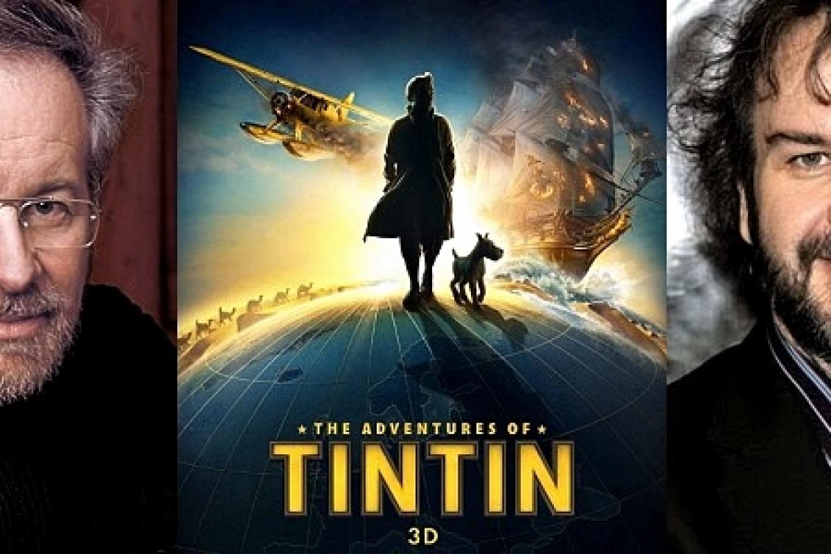 Steven Spielberg y Peter Jackson preparan el regreso de Tintín