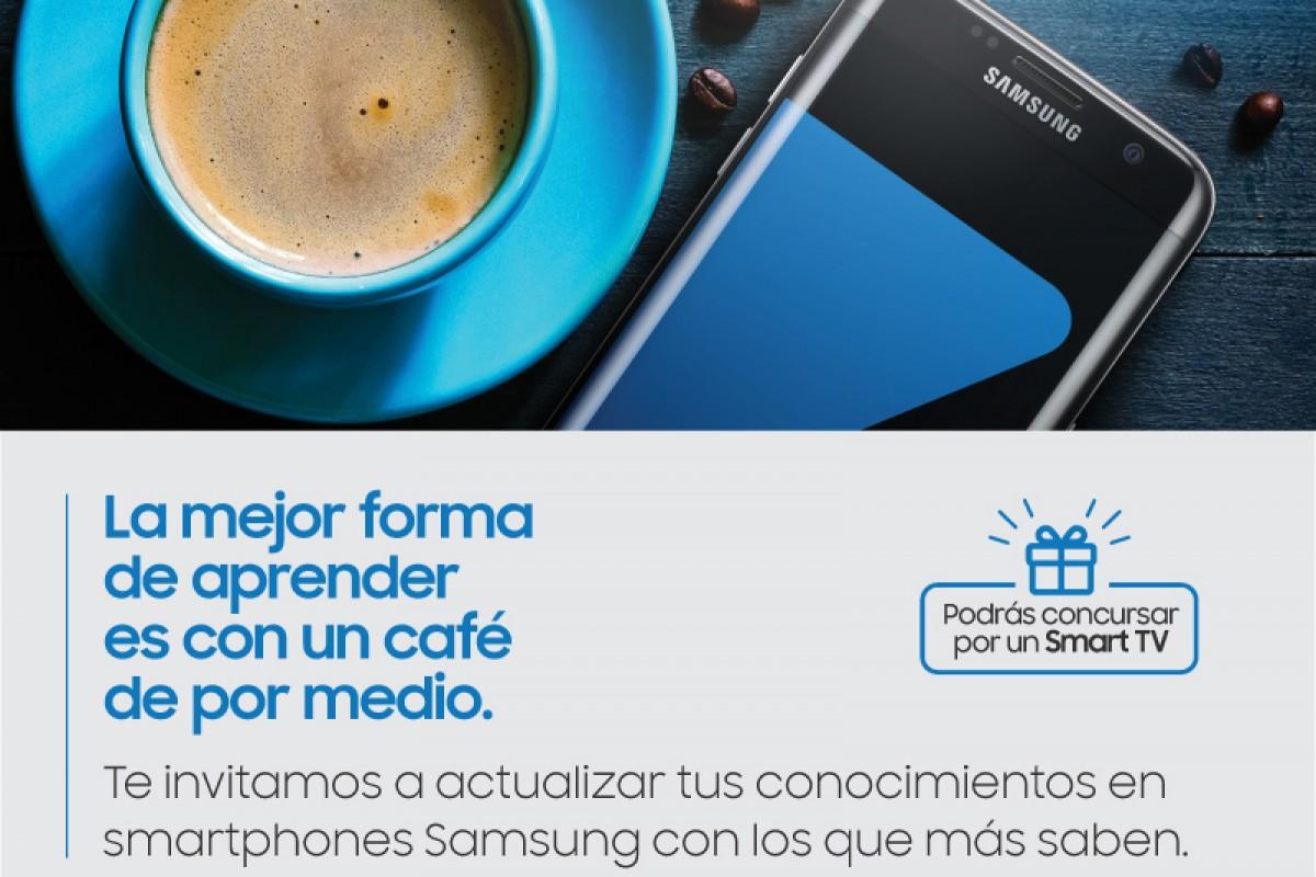 ¿Tenes un Galaxy? El Samsung Coffee And Training es para vos