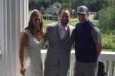 Justin Timberlake se coló en la sesión se fotos de una boda