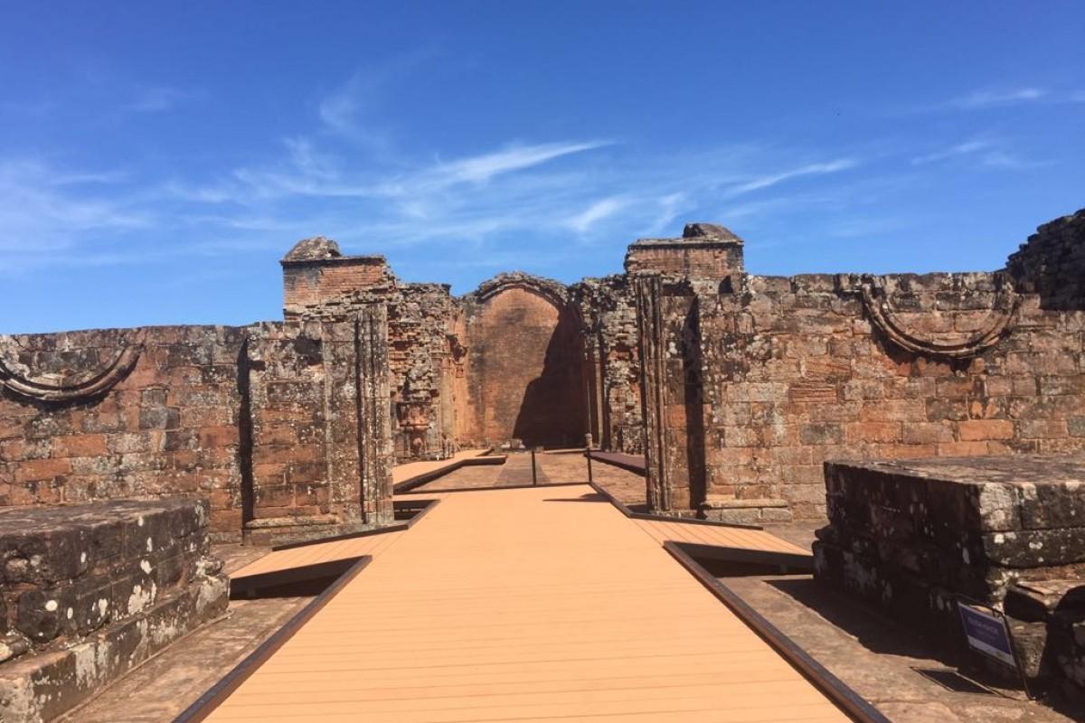 La Misión Jesuítica Guaraní de Trinidad ya cuenta con infraestructura accesible con rampas de acceso