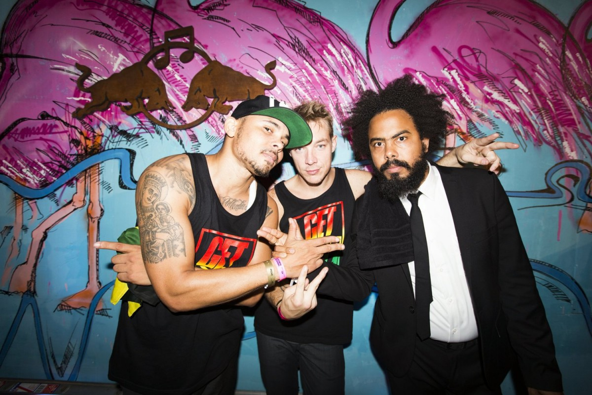 Major Lazer presentó video oficial de 'Cold Water'