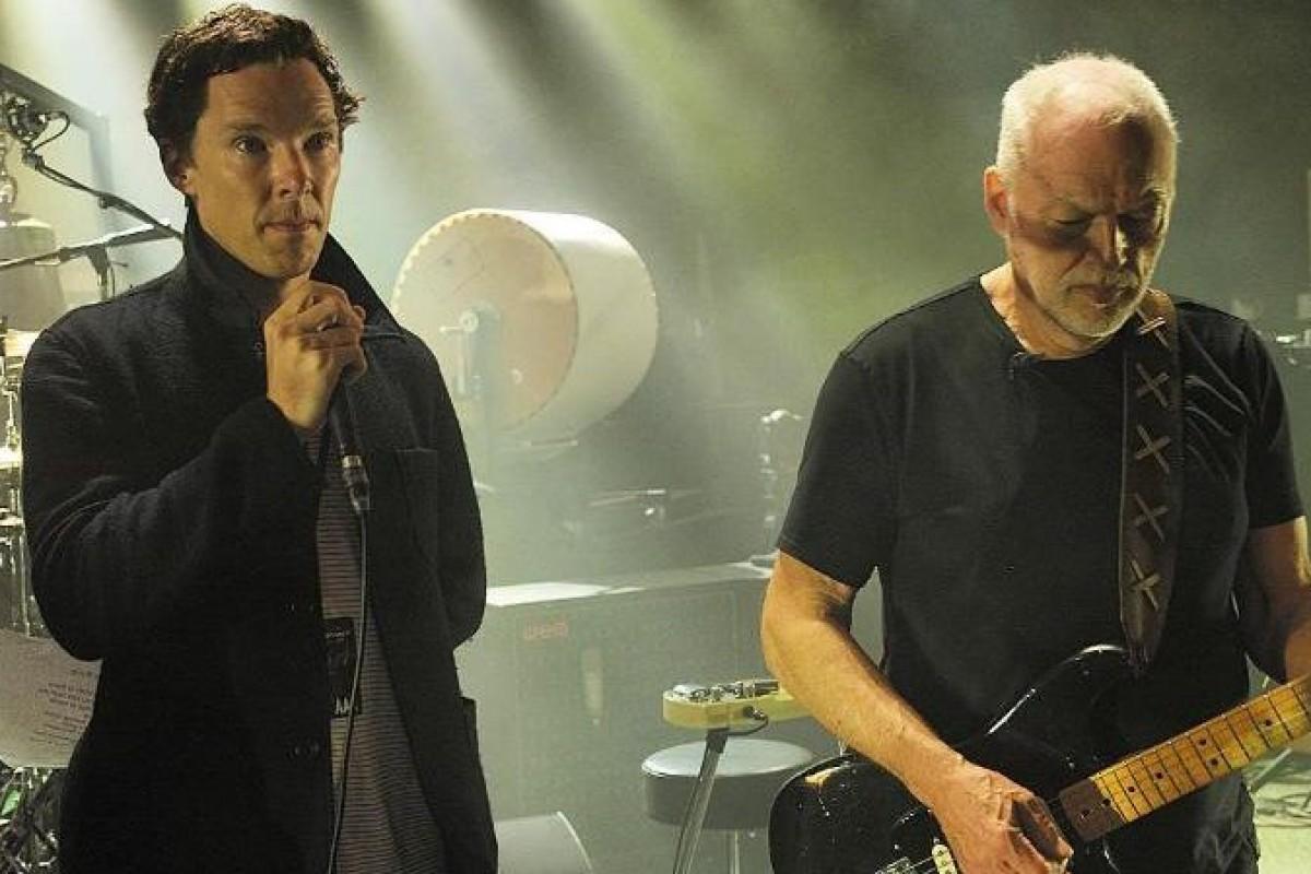 "Benedict Cumberbatch cantó ""Comfortably Numb"" con David Gilmour"