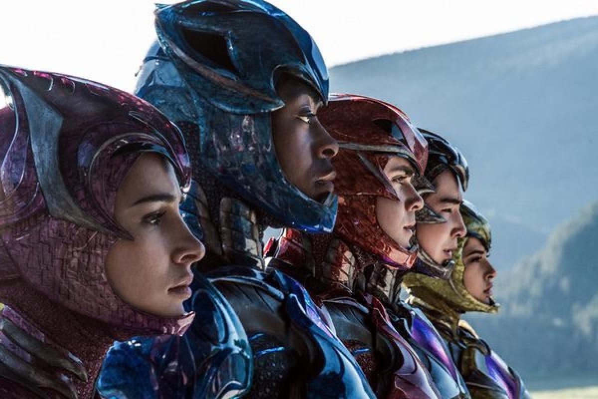 Power Rangers presentó su primer trailer y es BRUTAL