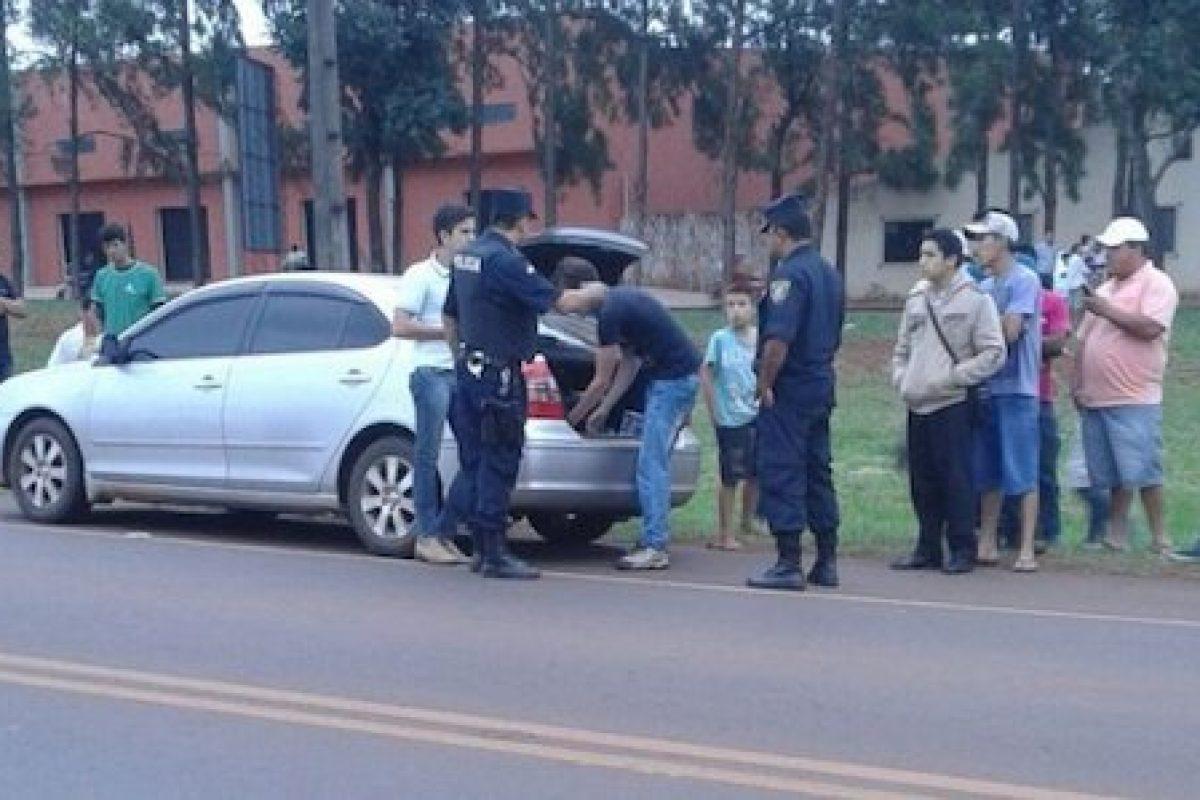Arlan Fick detenido por protagonizar un accidente de tránsito