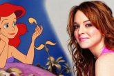 Lindsay Lohan quiere ser la nueva sirenita