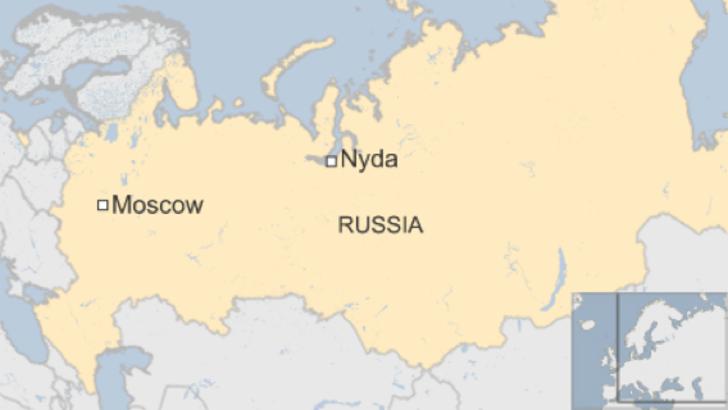 Nyda, Siberia.