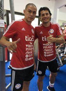 Darío Verón y Nelson Haedo ya entrenan con la selección.