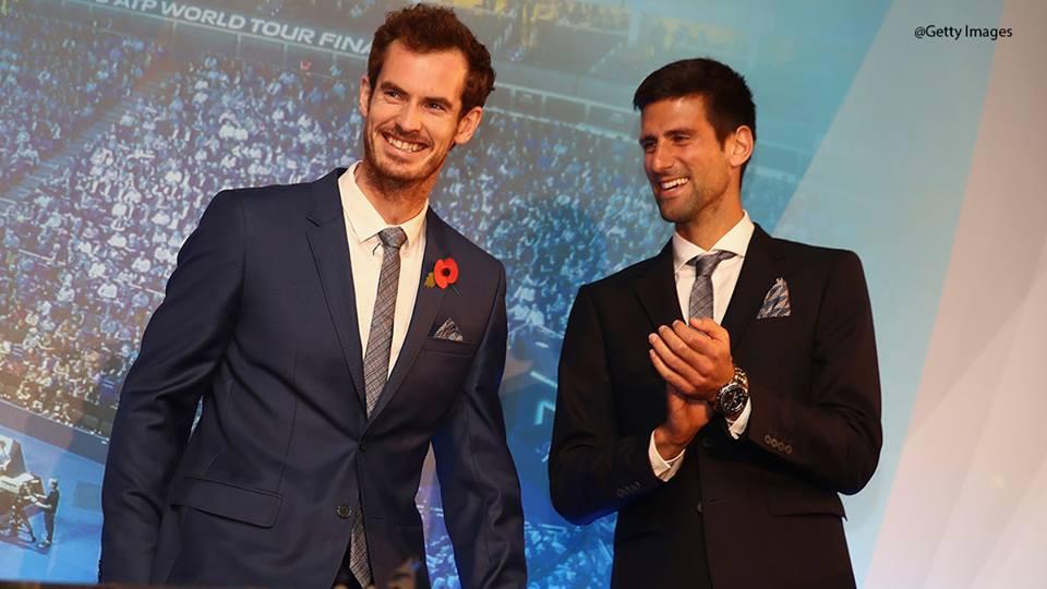 Andy Murray termino Nº1 del mundo frente a Novak Djokovic
