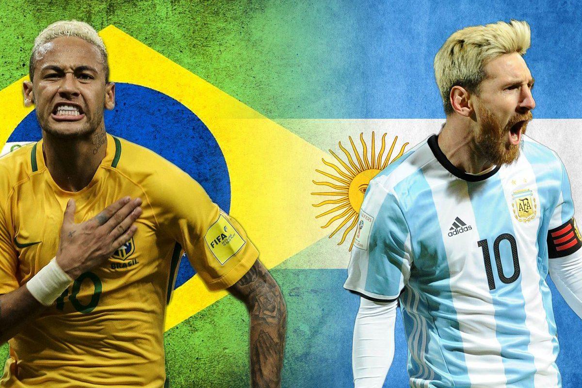 Brasil-Argentina, el superclásico sudamericano