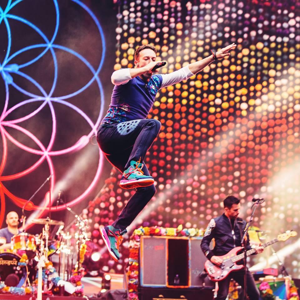 Imagen: @Coldplay
