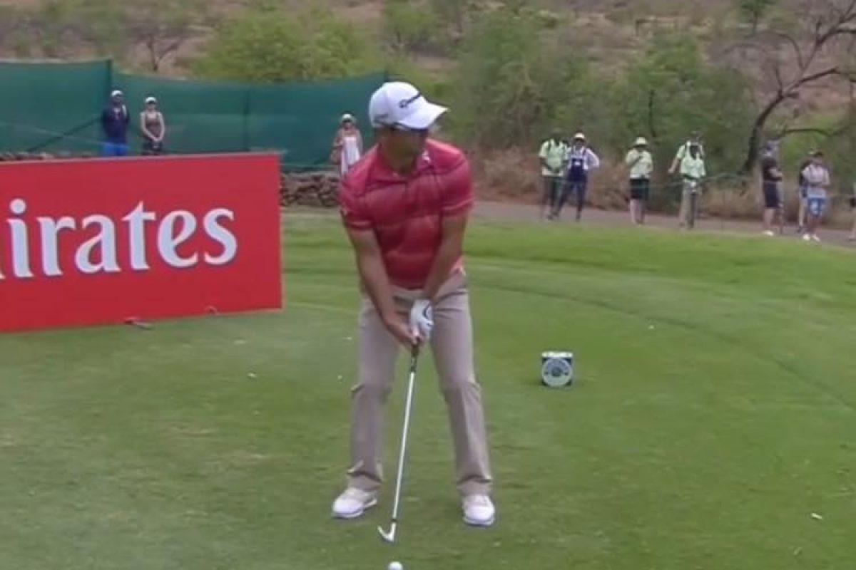 Golf: Hoyo en 1 de Zanotti en Sudáfrica