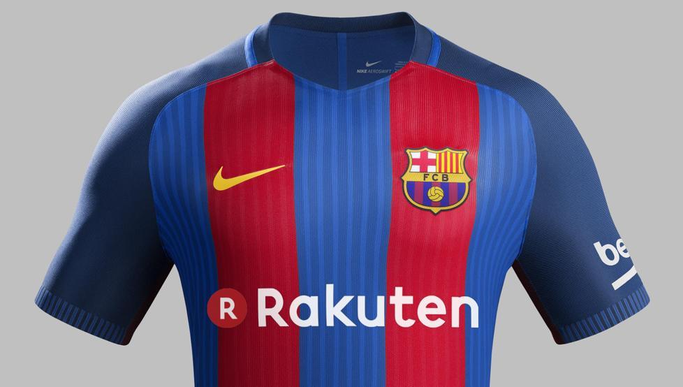 Rakuten, la marca que llevará el Barcelona en el pecho desde Julio 2017