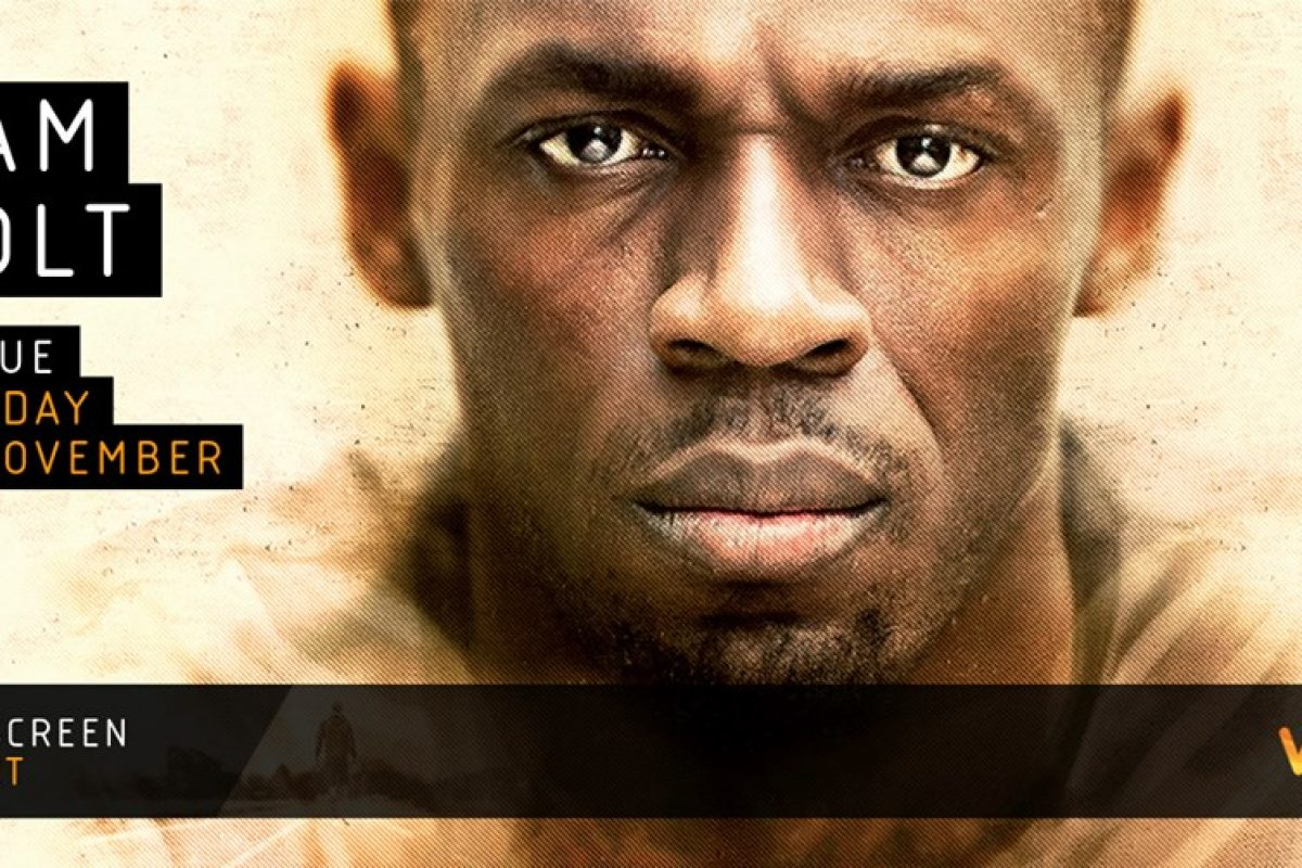 Usain Bolt corre a Hollywood